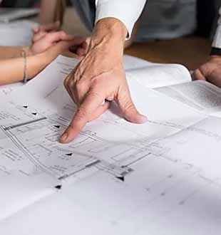 Construction company doing PROJECT DEVELOPMENT AND PLANNING